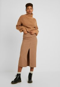 Noisy May - NMROBINA  - Pullover - camel - 1