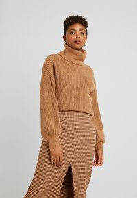Noisy May - NMROBINA  - Pullover - camel - 0