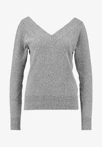 Noisy May - Svetr - medium grey melange - 4