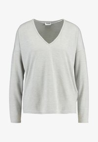 Noisy May - Sweter - light grey melange - 4