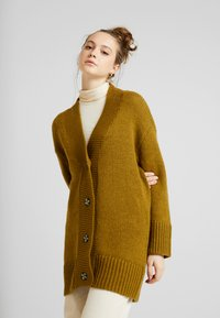 Noisy May - NMDEREK LOOSE CARDIGAN - Cardigan - plantation - 0