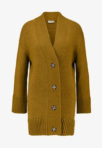 Noisy May - NMDEREK LOOSE CARDIGAN - Cardigan - plantation - 3