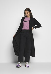 Noisy May - NMTESS LONG CARDIGAN - Cardigan - black - 1