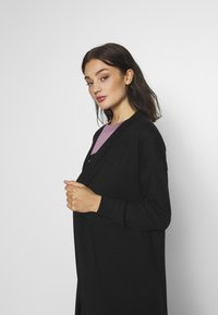 Noisy May - NMTESS LONG CARDIGAN - Cardigan - black - 3