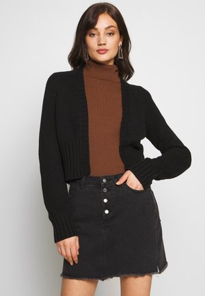 NMWIL O NECK  - Cardigan - black