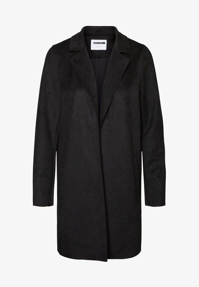 COATIGAN WILDLEDERIMITAT - Krótki płaszcz - black
