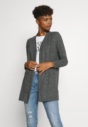 NMCITY  - Cardigan - dark grey melange