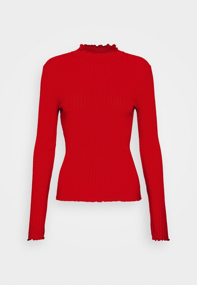 NMBERRY HIGH NECK  - Jersey de punto - haute red