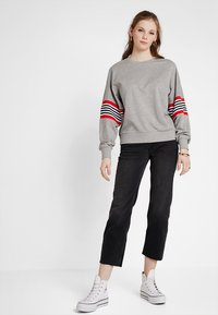 Noisy May - NMPOPPA - Sweatshirt - light grey melange - 1