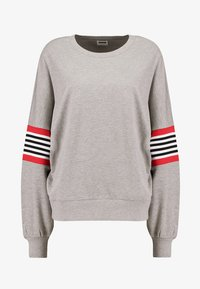 Noisy May - NMPOPPA - Sweatshirt - light grey melange - 4