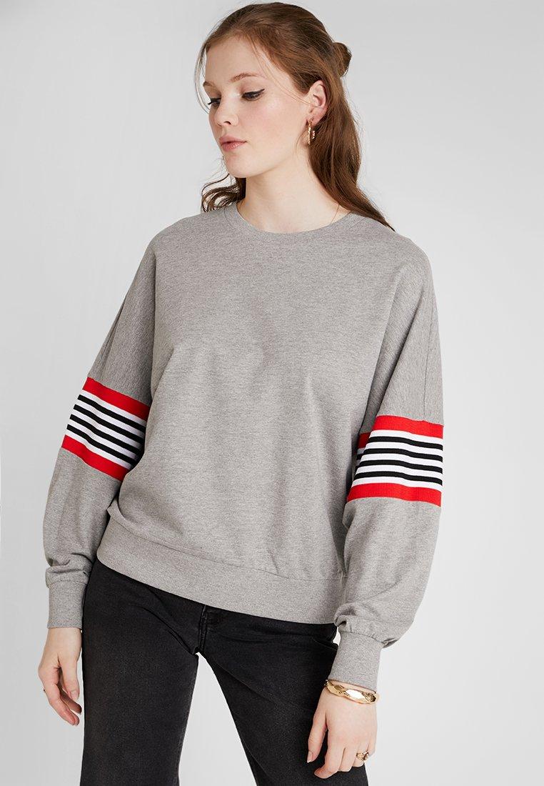 Noisy May - NMPOPPA - Sweatshirt - light grey melange