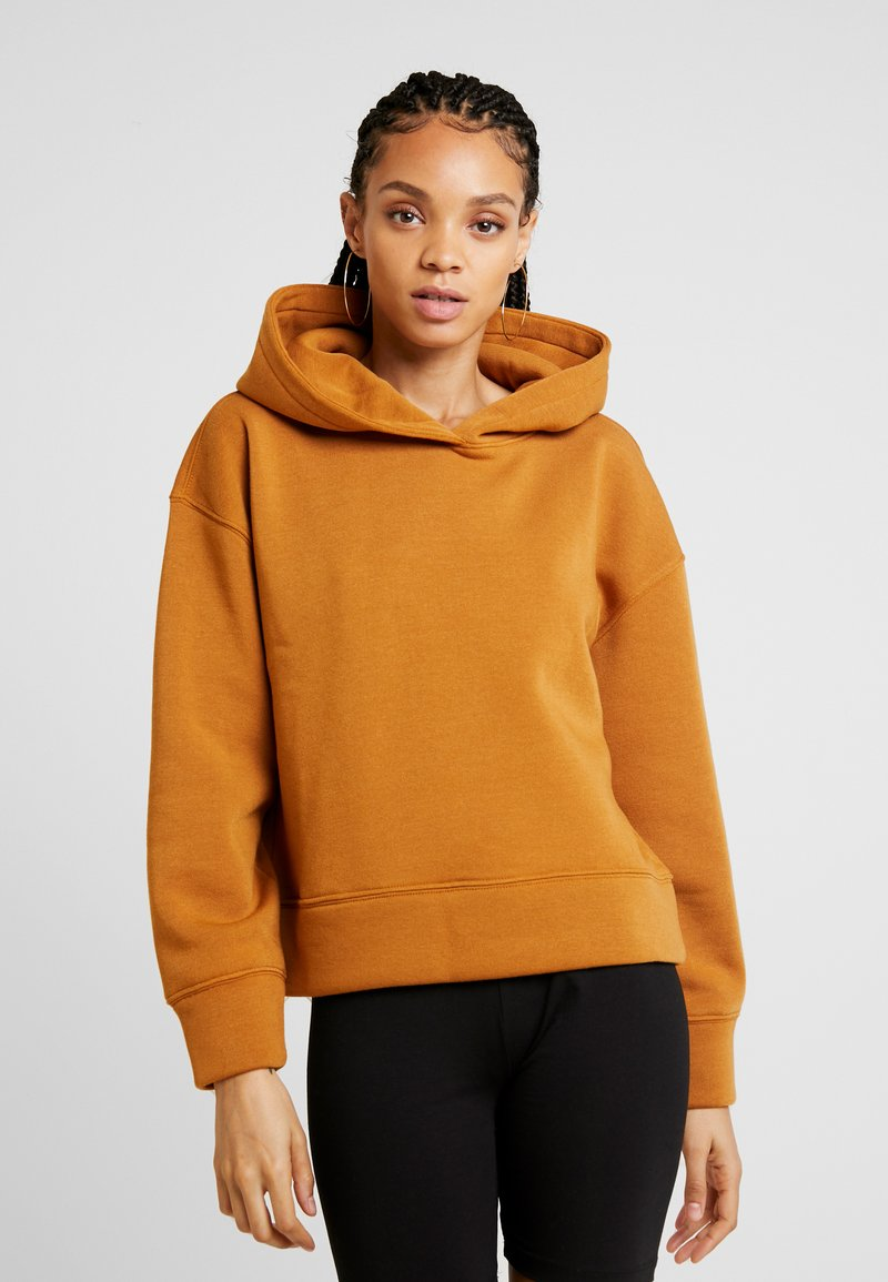 Noisy May - NMASYA HOOD - Kapuzenpullover - brown sugar