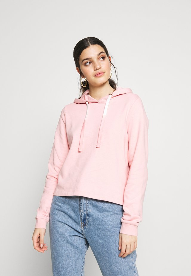 Hoodie - silver pink