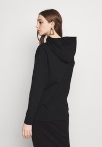 Noisy May - NMLEYA WOMENSDAY  - Hoodie - black/womensday w. knockout pink - 2