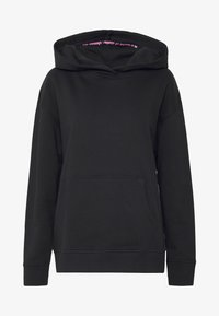 Noisy May - NMLEYA WOMENSDAY  - Hoodie - black/womensday w. knockout pink - 5