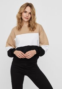 Noisy May - Sweatshirt - beige - 0