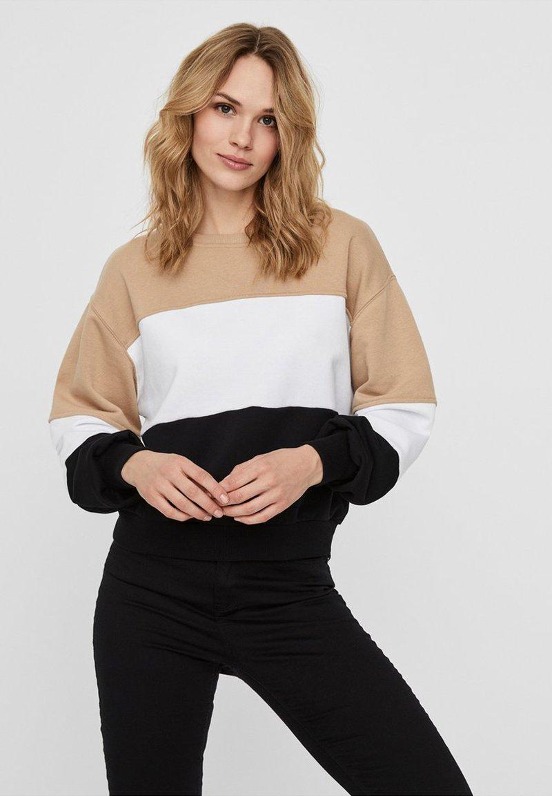 Noisy May - Sweatshirt - beige