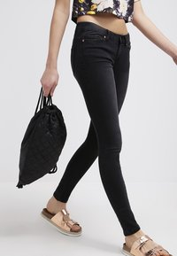 Noisy May - EVE - Jeansy Slim Fit - black - 3