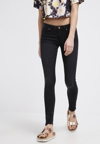 Noisy May - EVE - Jeansy Slim Fit - black - 0