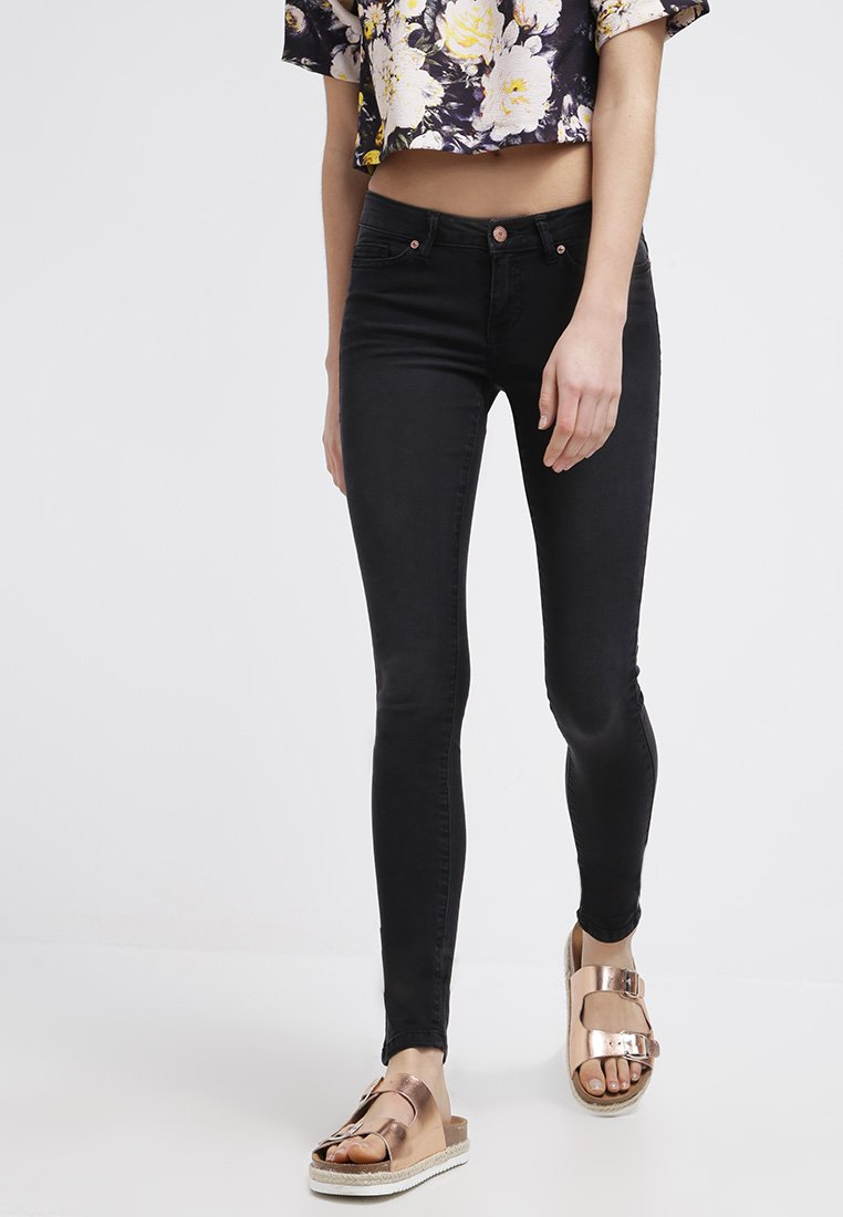 Noisy May - EVE - Jeansy Slim Fit - black