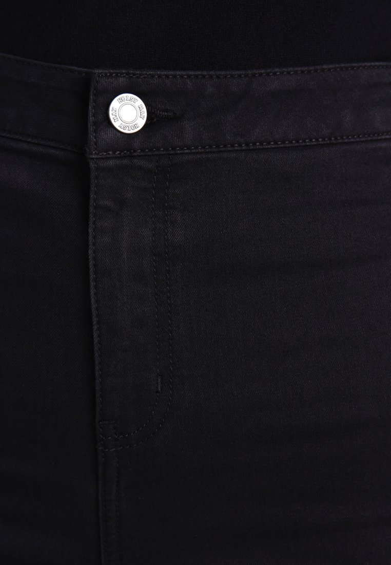 Noisy May NMELLA SUPER  - Jeansy Skinny Fit - black