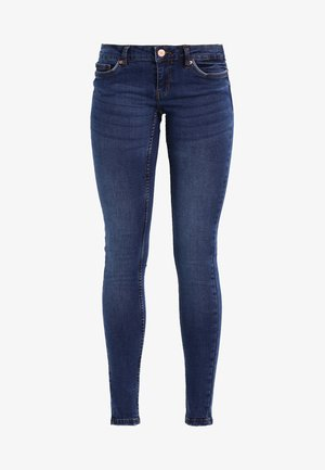 NMEVE POCKET PIPING - Jeans Skinny Fit - dark blue denim