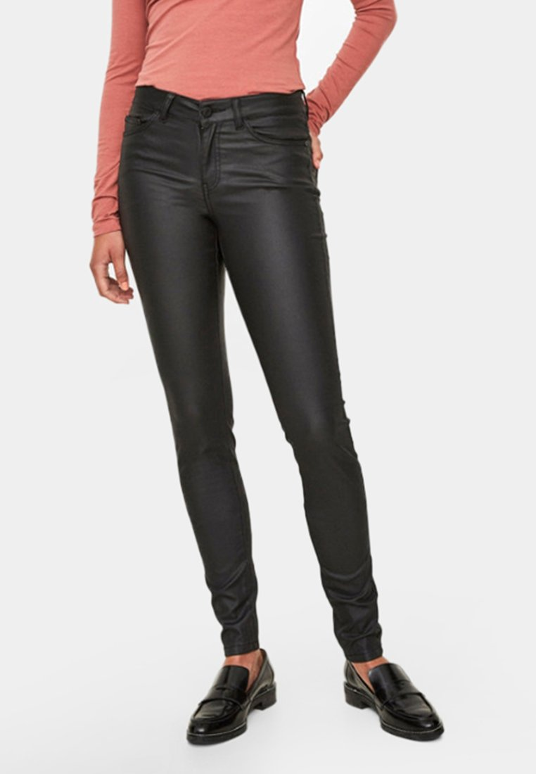Noisy May Jeansy Skinny Fit - black