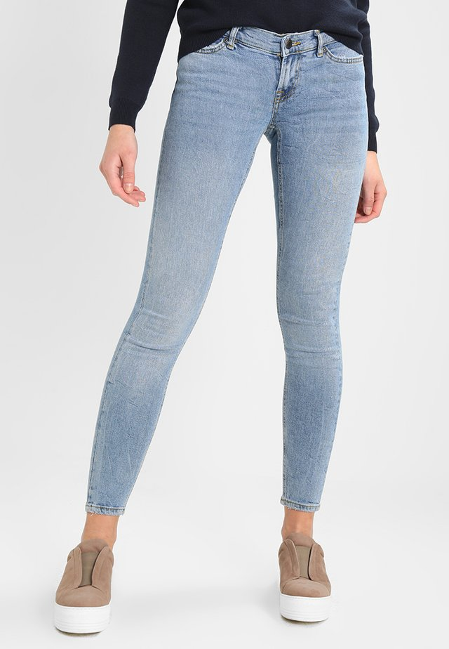 NMEVE - Jeans Skinny Fit - light blue denim