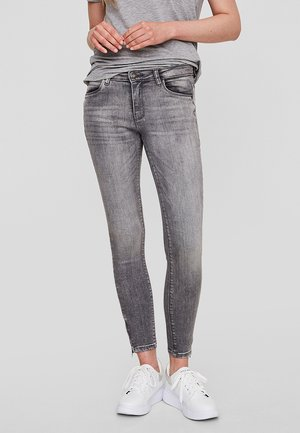 Slim fit -farkut - light grey denim