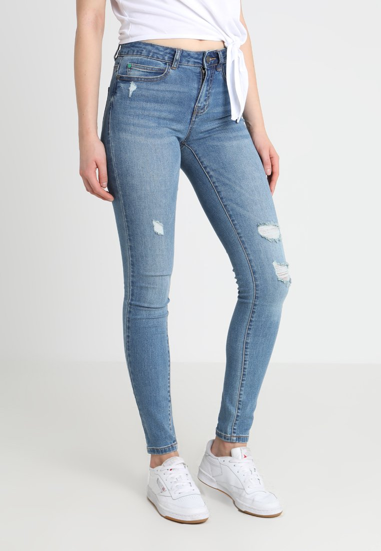 Noisy May - NM LUCY COFFEE - Jeans Skinny Fit - light blue denim