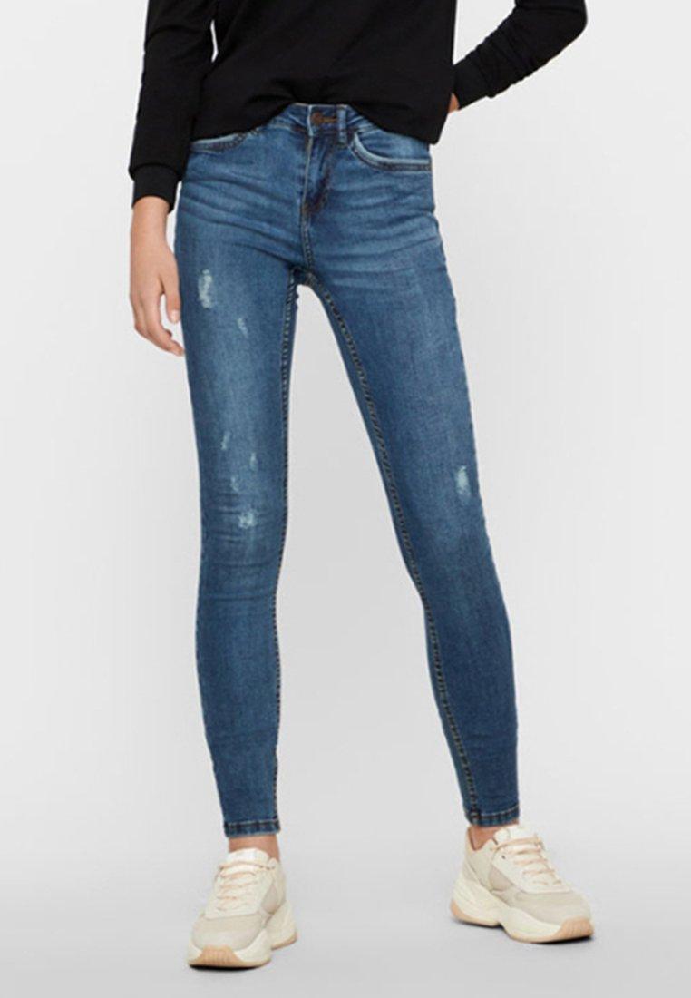 Noisy May - Jeans Skinny Fit - dark blue