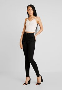 Noisy May - Jeans Skinny Fit - black denim