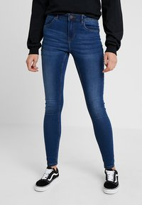 Noisy May - NMJEN SHAPER - Jeans Skinny Fit - medium blue denim - 0