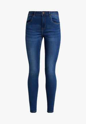 NMJEN SHAPER - Jeansy Skinny Fit - medium blue denim