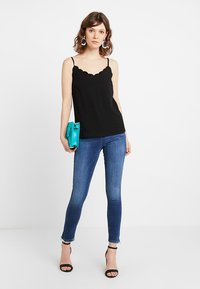 Noisy May - NMLOLLY ANKLE ZIP - Jeans Skinny Fit - medium blue denim - 1