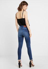 Noisy May - NMLOLLY ANKLE ZIP - Jeans Skinny Fit - medium blue denim - 2