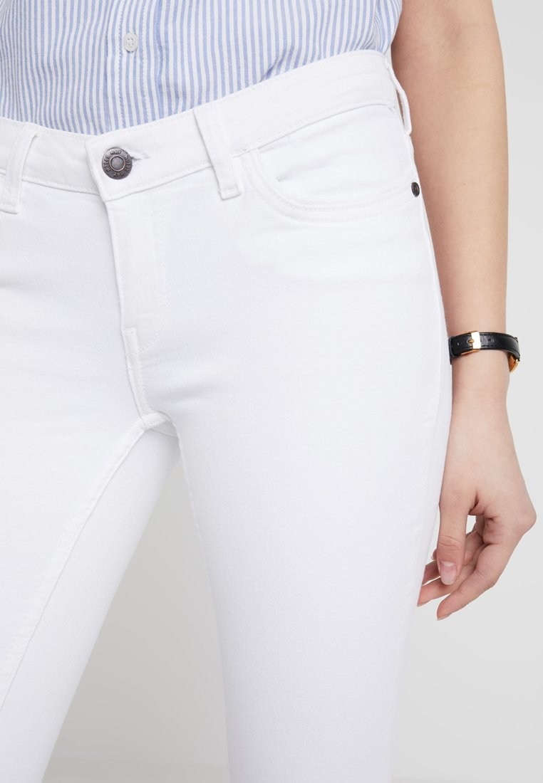Noisy May Jeansy Skinny Fit - bright white