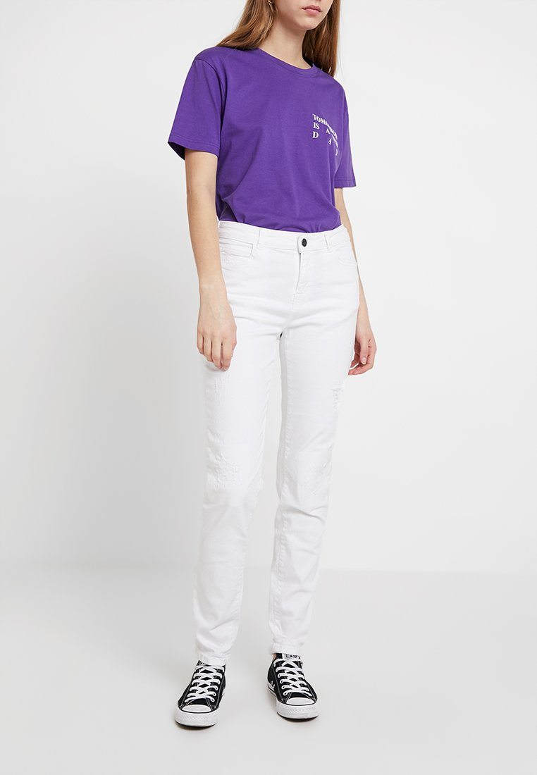 Noisy May - NMKIM ANTIFIT - Jeans Relaxed Fit - white