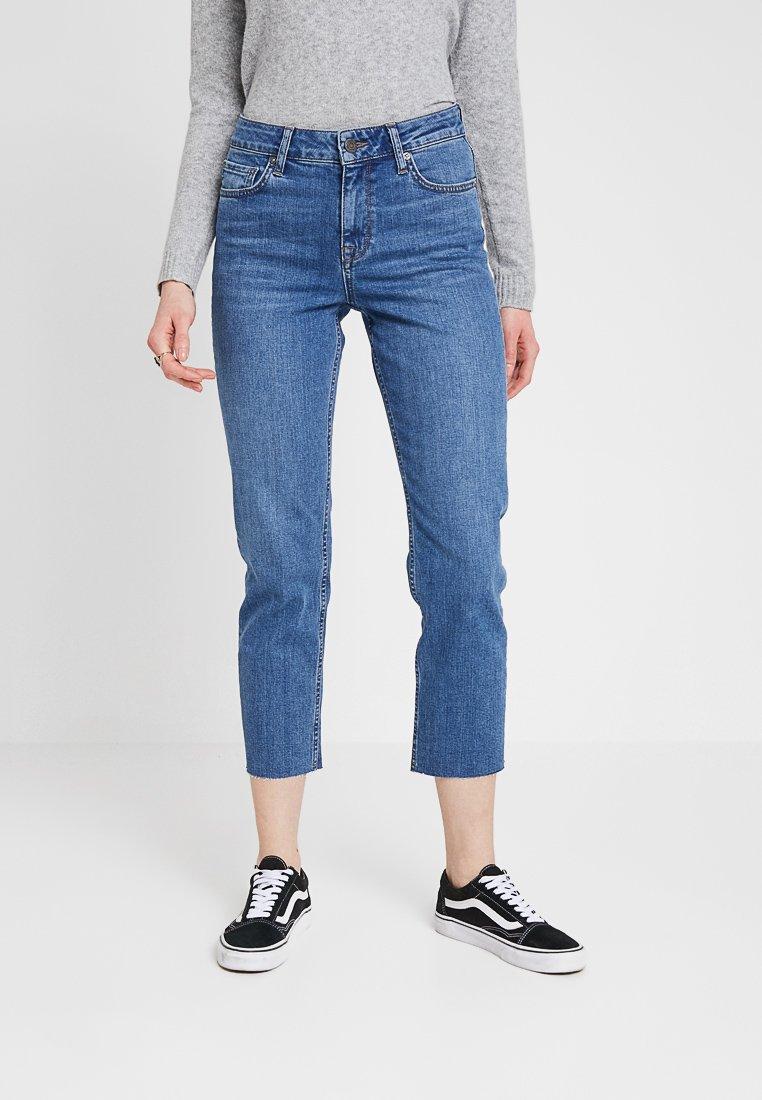 Noisy May - NMJENNA - Jeans Straight Leg - medium blue denim