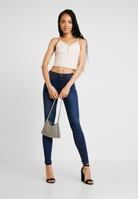 Noisy May - Jeans Skinny Fit - dark blue denim - 1