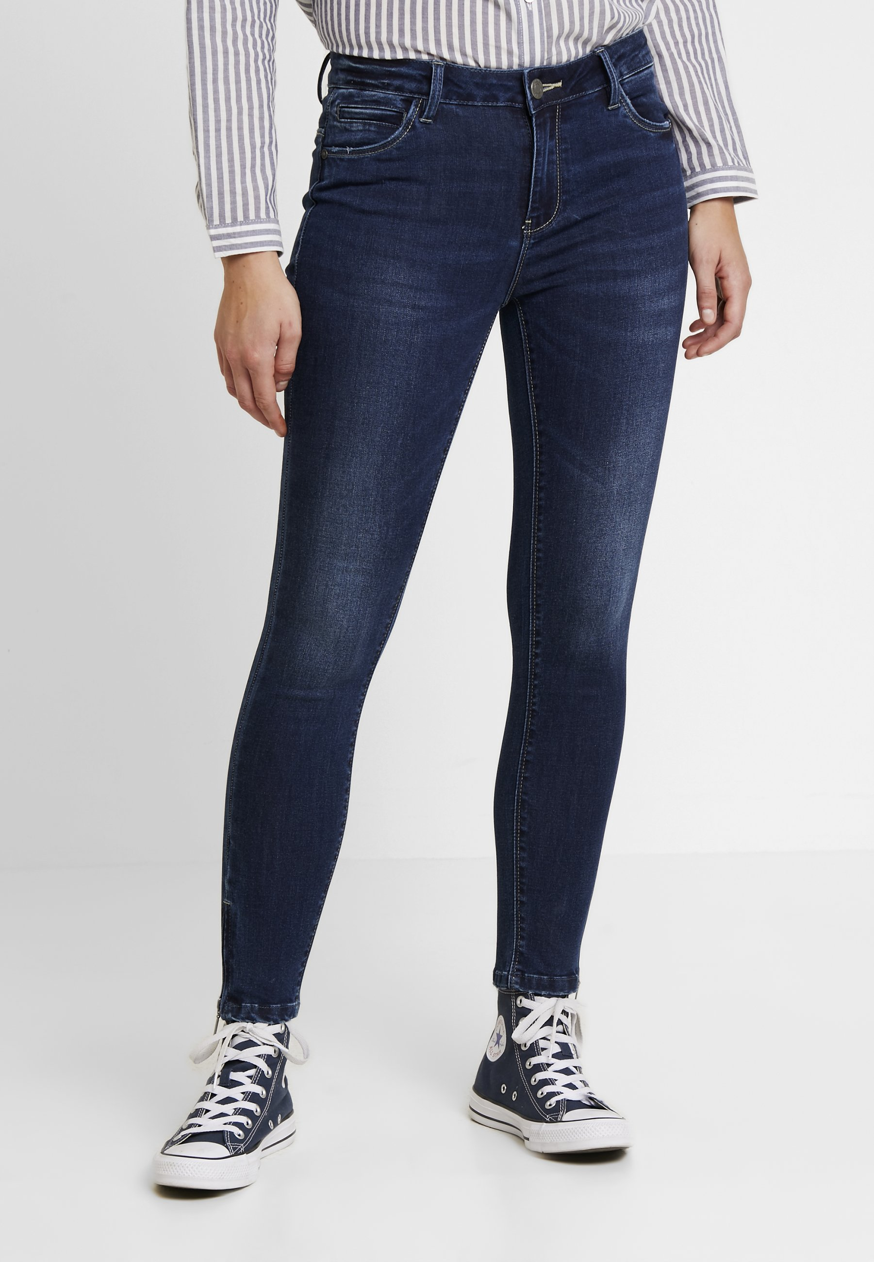 May Nmkimmy Ankle Skinny Dark Blue Noisy Denim ZipJeans PkuXiZ