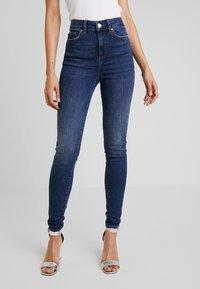 Noisy May - Jeans Skinny Fit - medium blue denim - 0