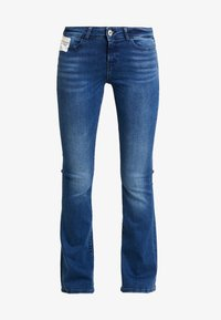 Noisy May - Flared Jeans - medium blue denim - 4