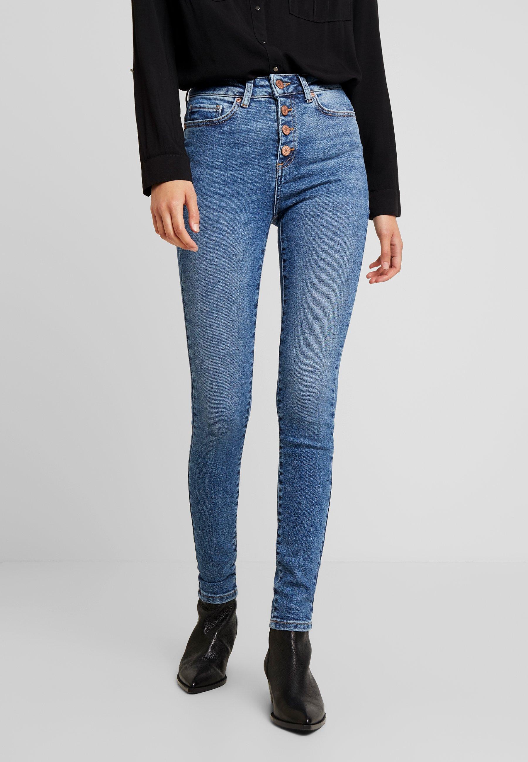 May Blue Nmcallie Skinny Denim Noisy HighwaistJeans Medium WYD2EH9I