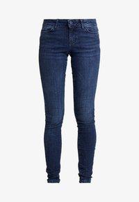 Noisy May - Jeans Skinny Fit - dark blue - 4