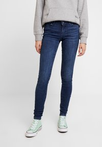 Noisy May - Jeans Skinny Fit - dark blue - 0
