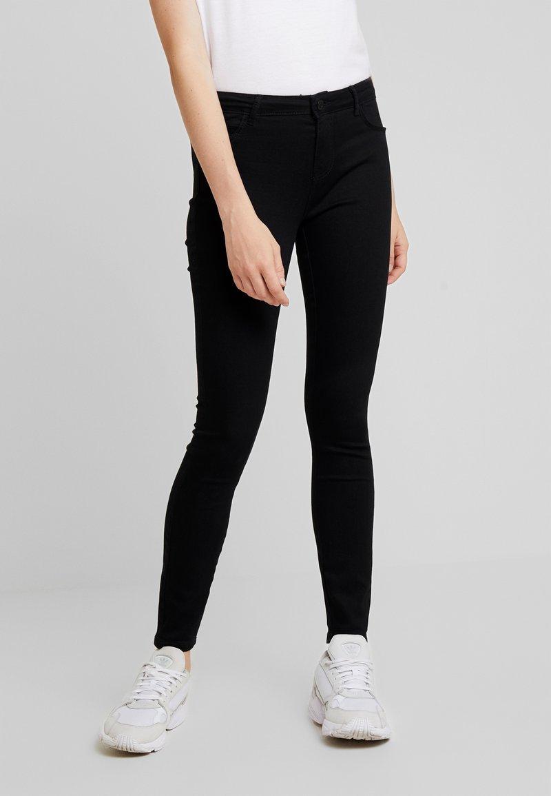Noisy May - NMNEWKIMMY - Jeans Skinny Fit - black denim