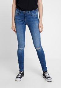 Noisy May - Skinny džíny - medium blue denim - 0