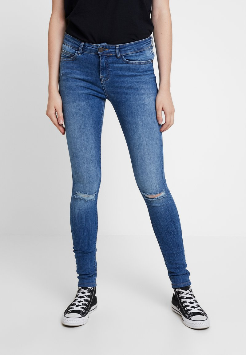 Noisy May - Skinny džíny - medium blue denim