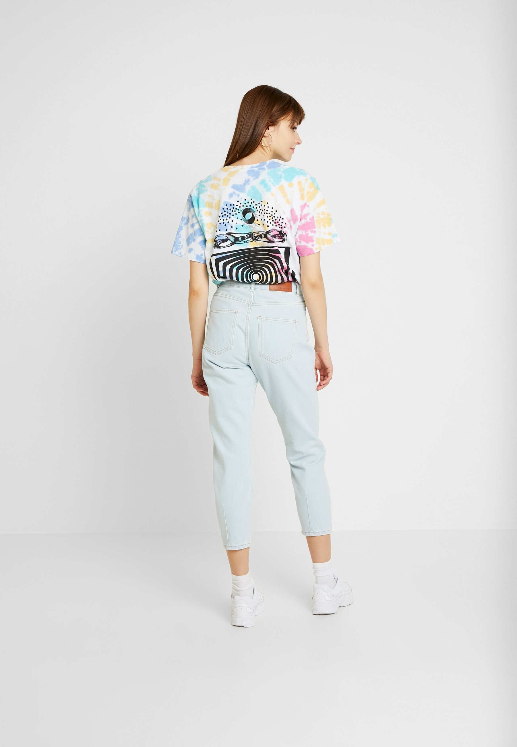 Noisy May Relaxed Fit Jeans Light Blue Denim TnaRHzi9